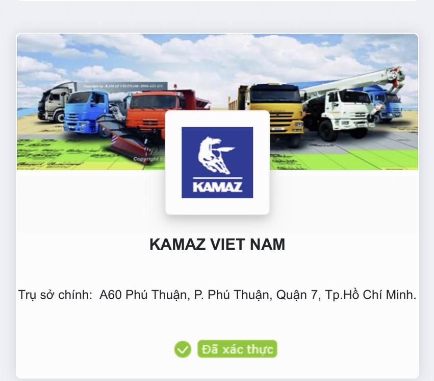 Ảnh bìa của Kamaz Việt Nam Admin