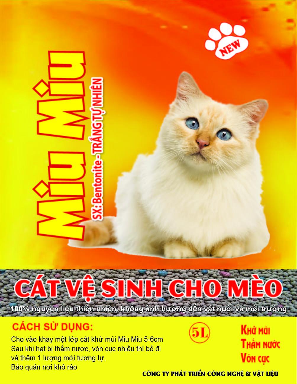 Cát Vệ Sinh - Thức Ăn - Phụ Kiện Cho Chó Mèo