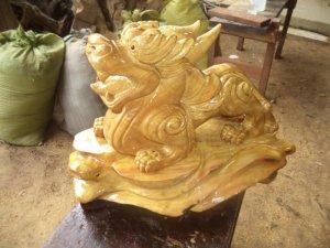 Tượng Gỗ Phong Thủy