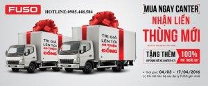 Đại lý xe tải Mitsubishi Fuso Long Biên