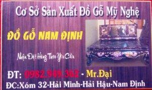 Đồ Gỗ Nam Định-Zalo 0982949362