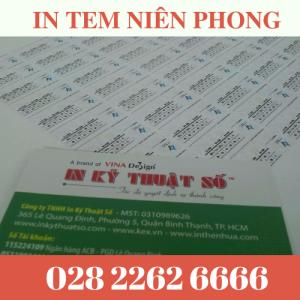 In Tem Niêm Phong Giá Rẻ TPHCM