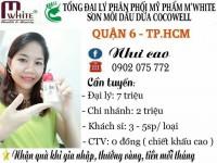 Mỹ Phẩm Thiên Nhiên M'white - Son Dầu Dừa Cocowell