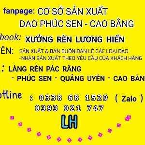Cssx Dao Phúc Sen - Cao Bằng