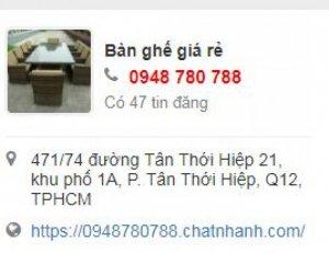 Nội Thất Tấn Hoàng Bàn Ghế Cafe, Ô Dù, Xích Đu Tphcm