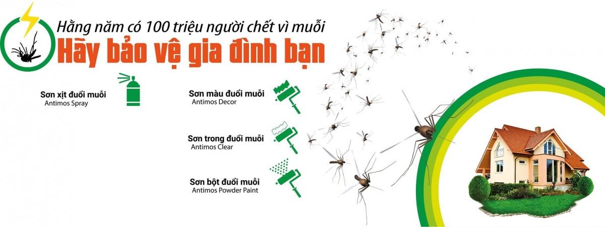Sơn Đuổi Muỗi