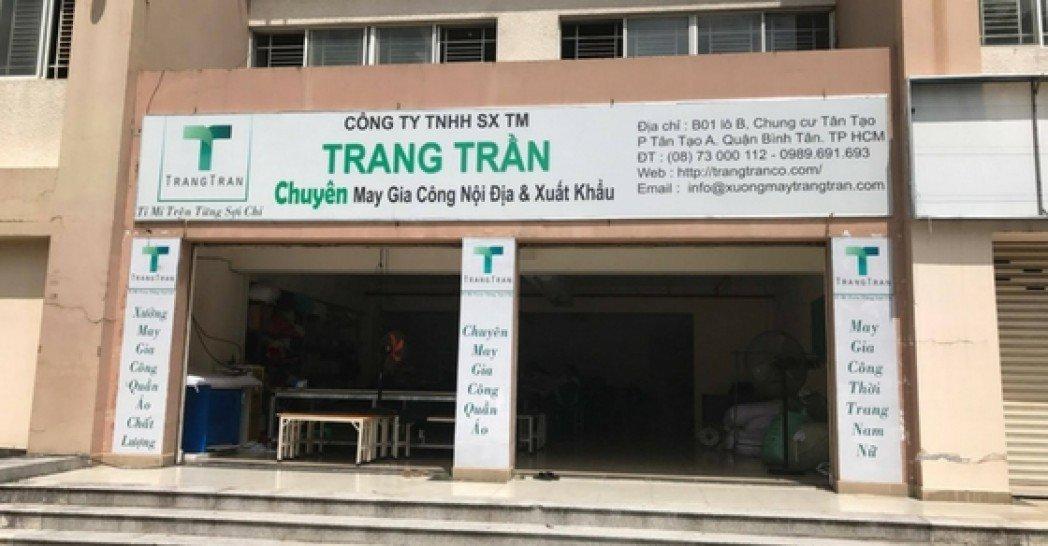 Xưởng May Trang Trần