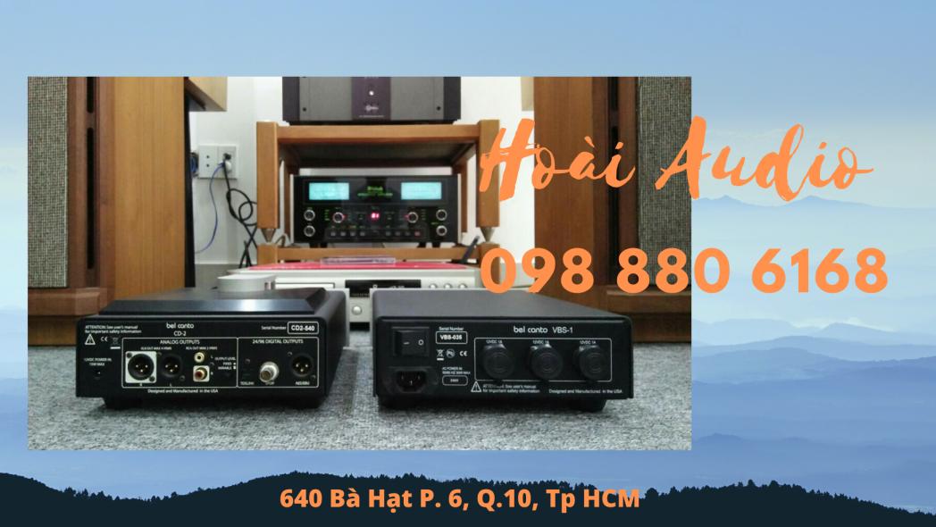 Loa Amply Hoài Audio TPHCM