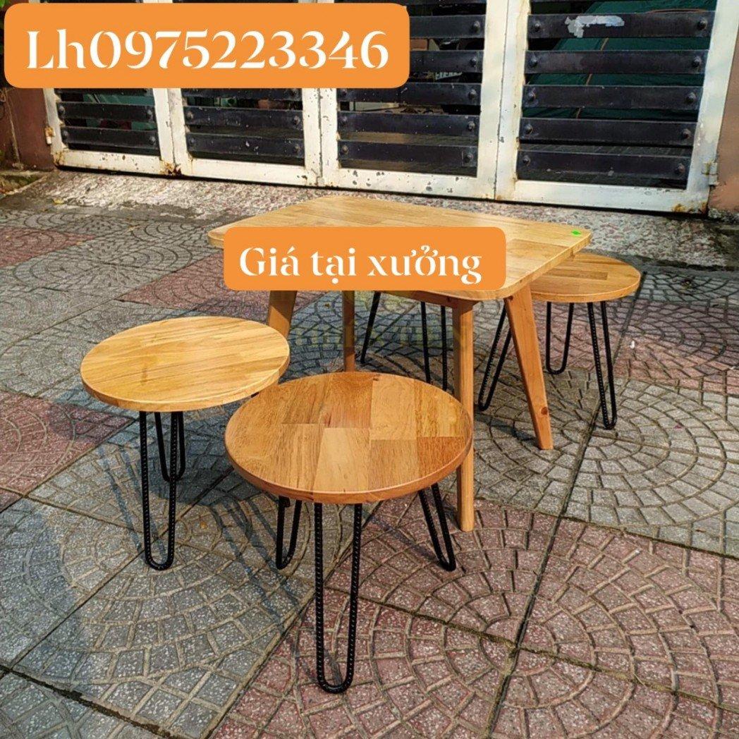Xưởng Bàn Ghế Cafe Đẹp Quang Đại giá rẻ