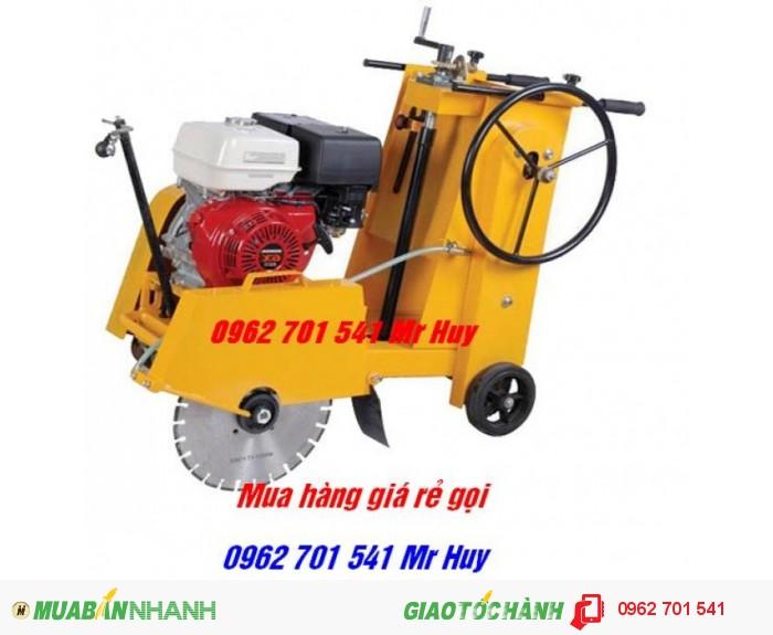 máy cắt bê tông, máy cắt đường bê tông KC16 động cơ honda chạy xăng