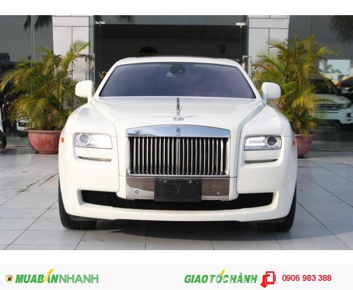 Xe Rolls Royce Ghost màu trắng 2011 xe nhập lướt Mỹ mới 96%