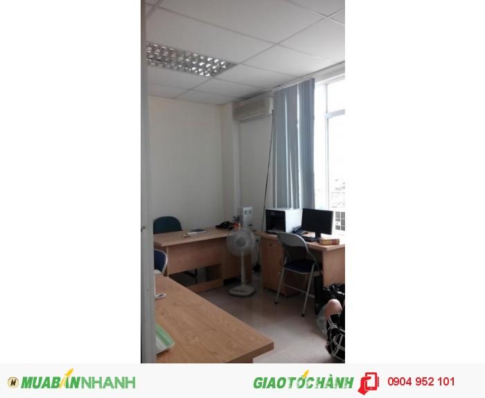 Cho thuê văn phòng 23m2 tại tòa nhà chuyên nghiệp khu Hoàng Cầu giá 4.5 tr/tháng