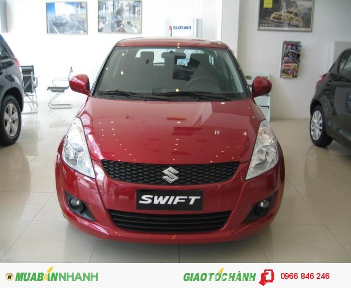 Suzuki New Swift 2015 5 chỗ màu đỏ
