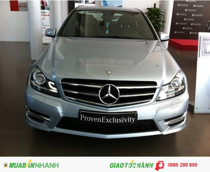 Mercedes-Benz C200 sản xuất năm 2014 Số tự động Động cơ Xăng