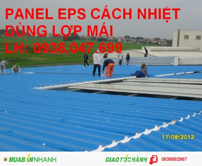 Tấm panel EPS cách nhiệt Hải Việt