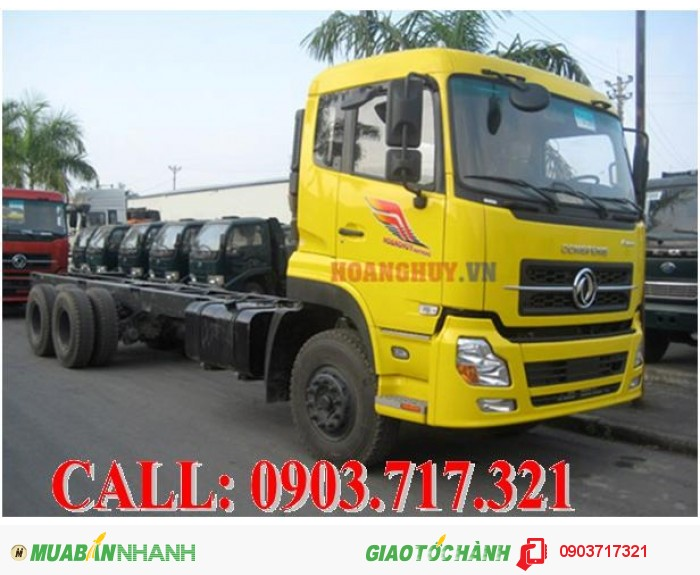 Bán xe tải DongFeng C260 giá tốt nhất. Xe tải DongFeng hoàng huy C260 giá rẻ