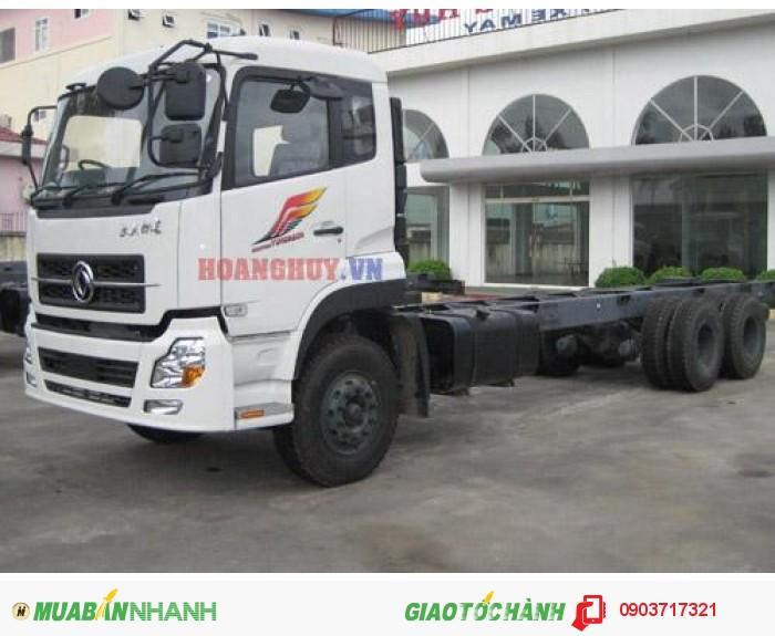 Bán xe tải DongFeng C260 giá tốt nhất. Xe tải DongFeng hoàng huy C260 giá rẻ 2
