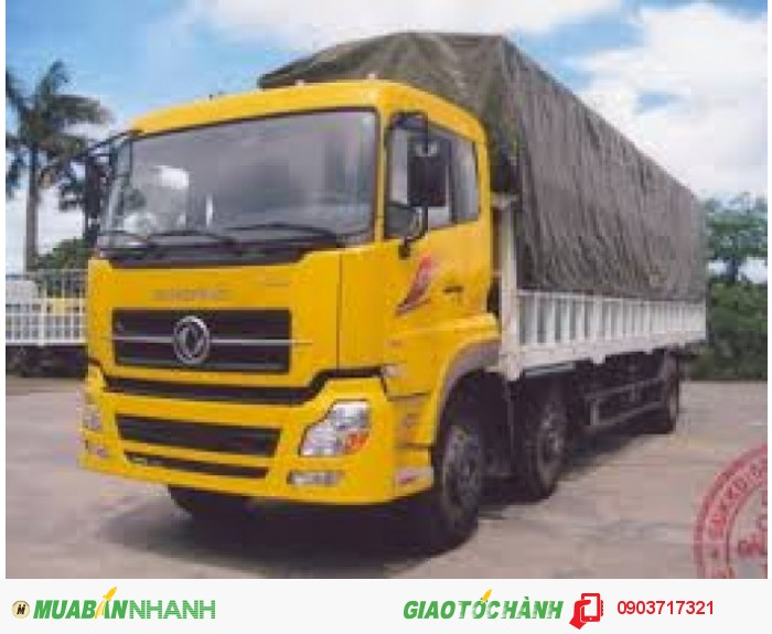 Bán xe tải DongFeng C230 Hoàng Huy nhập khẩu. Gía bán xe tải DongFeng C230 - 3 chân 2