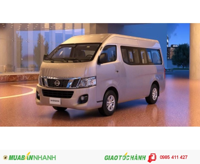 Xe du lịch 16 chỗ Nissan Urvan NP350 hoàn toàn mới tại Đà Nẵng