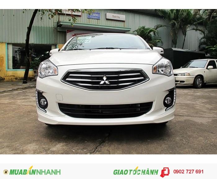 Xe Mitsubishi Attrage 2015, xe tiết kiệm xăng, giá tốt nhất thị trường