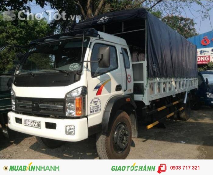 Xe tải Cửu Long TMT 8 tấn thùng bạt dài 9m3