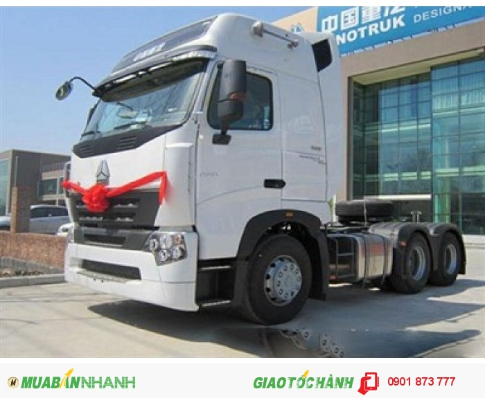 Đầu kéo Howo Cabin A7 máy 375, 420 mã lực nhập khẩu.Giá xe đầu kéo Howo 375Hp, 420Hp nhập khẩu tốt nhất 0
