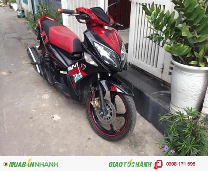 Bán xe Yamaha Nouvo IV LX 135cc, đỏ đen, đời cuối 2010 0