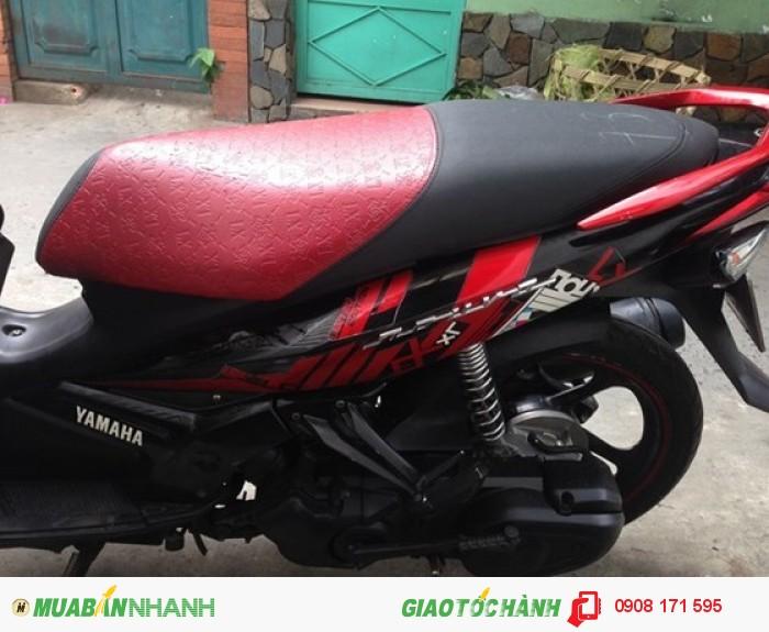 Bán xe Yamaha Nouvo IV LX 135cc, đỏ đen, đời cuối 2010 1