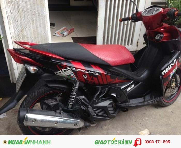 Bán xe Yamaha Nouvo IV LX 135cc, đỏ đen, đời cuối 2010 2