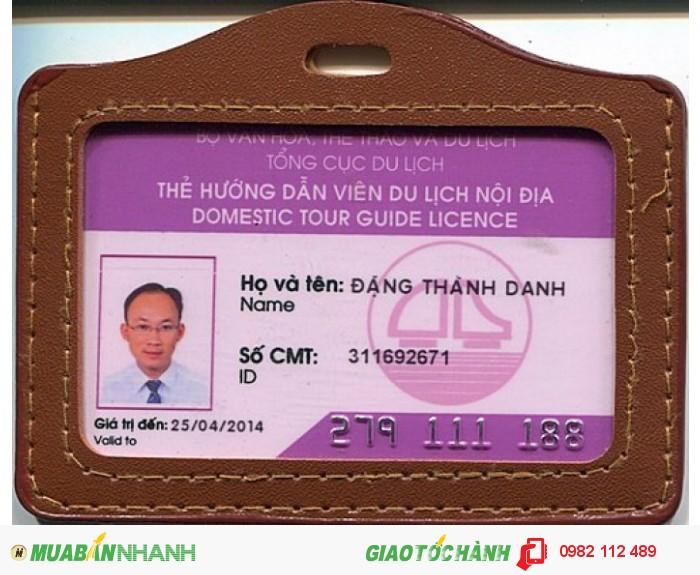 Lớp hướng dẫn viên du lịch cấp chứng chỉ làm thẻ