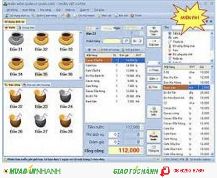 Phần mềm quản lý bán hàng cho quán cafe tại Đồng Nai