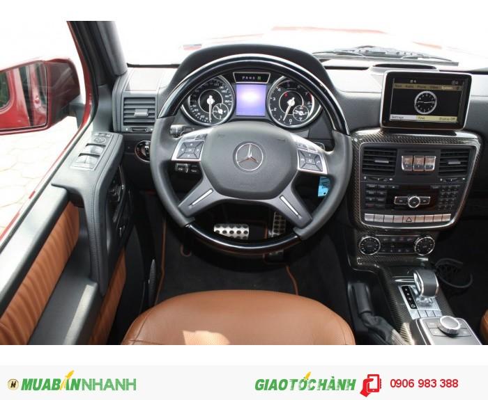 Mercedes G63 AMG 2015 Màu Rượu Vang Chile ,Xe thương mại mới 100% 3