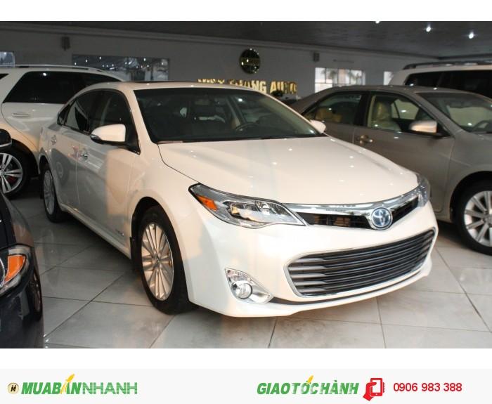 Toyota Avalon Limited Hybrid 2015. Xe màu Trắng mới 100% nhập Mỹ