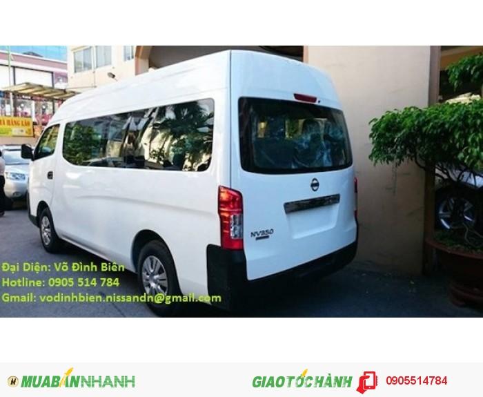Xe Nissan Urvan 16 chỗ  2.5L mới 100% nhập khẩu.