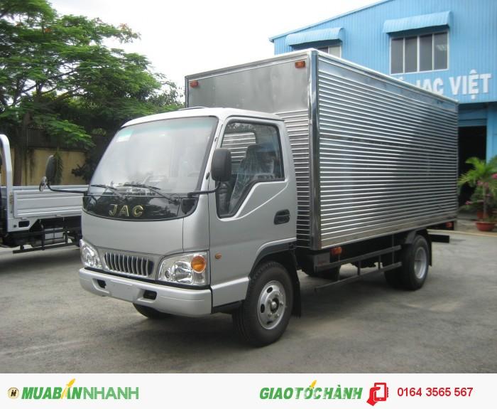 Bán Xe Tải JAC 2t4 chính hãng - Máy ISUZU nhập khẩu
