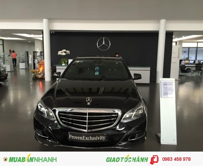 Mercedes-Benz E200 sản xuất năm 2014 Số tự động Động cơ Xăng