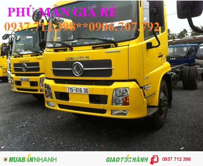 Bình Dương giá rẻ xe tải Dongfeng Hoàng Huy 3 chân C260 nhập khẩu giá rẻ nhất ở đâu? phú mẫn