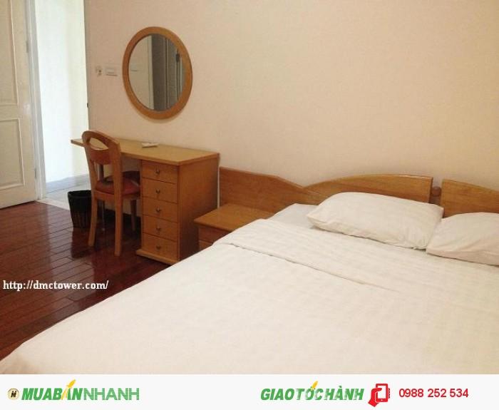 Cho thuê căn hộ  dịch vụ 1-3 buồng tại DMC, Kim Mã, Ba Đình, view hồ