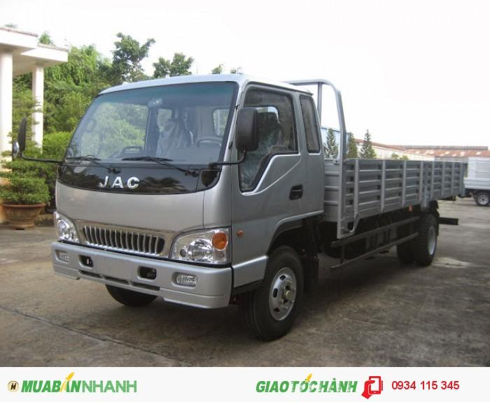 Xe tải jac 4.9 tấn/ Mua xe tải jac 4T9/ giá xe tải jac 4,9t trả góp lãi ưu đãi nhất.