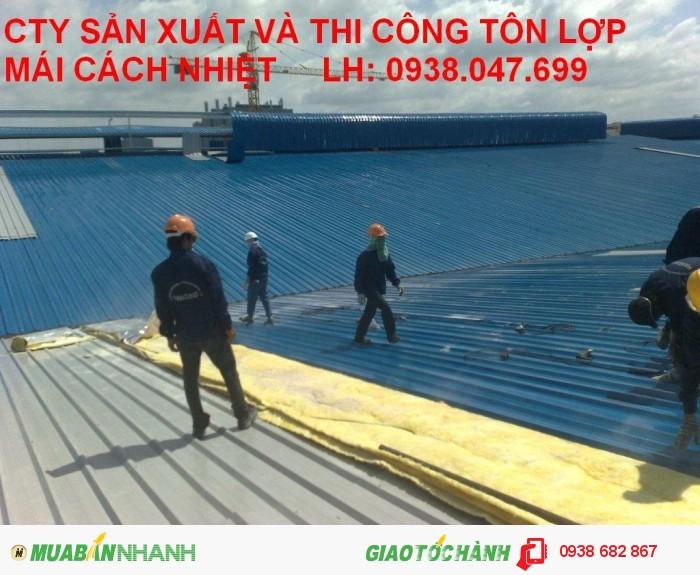 Panel EPS Hải Việt 3 lớp cách âm cách nhiệt dùng lợp mái, vách ngăn, đóng trần tphcm bình dương