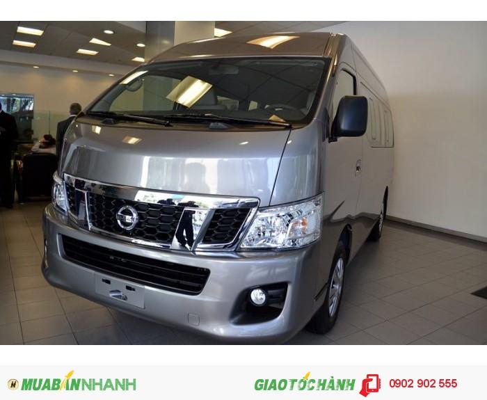 Bán xe thương mại 16 chỗ ngồi mới Nissan Urvan NV350 chính hãng khuyến mại