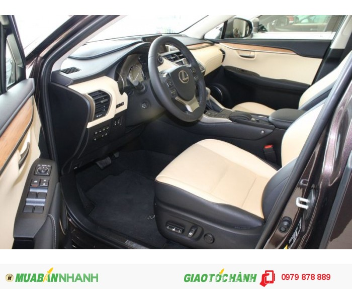 Lexus NX300H 2015 Luxury, xe nhập Đức, full kịch đò, giá tốt 2
