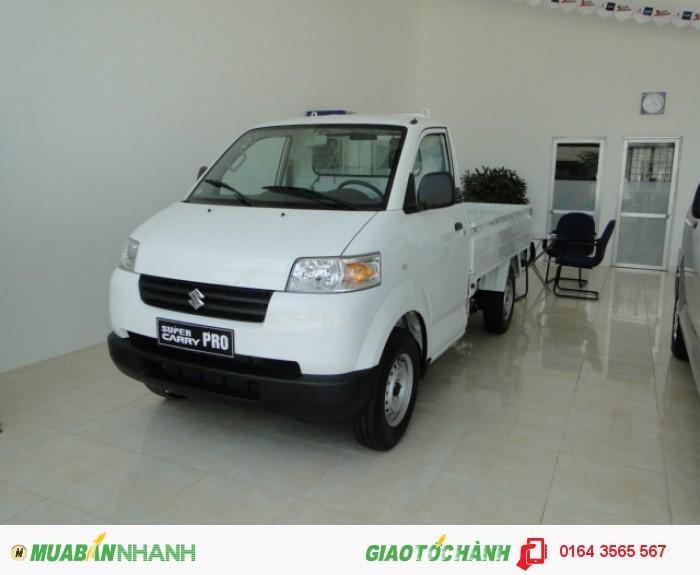 Bán xe Suzuki Pro, Suzuki Pro 740kg, Suzuki Pro 740kg nhập khẩu màu trắng