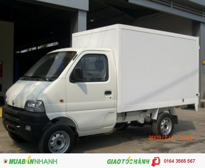 Bán xe tải SYM 880KG - xe tải SYM T880 màu vàng 2015