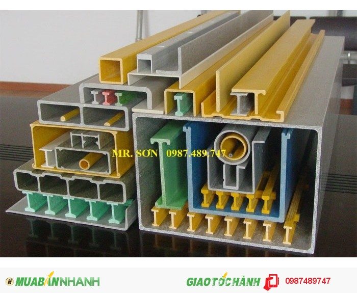 Thanh dầm FRP ( thanh dầm Composite )0