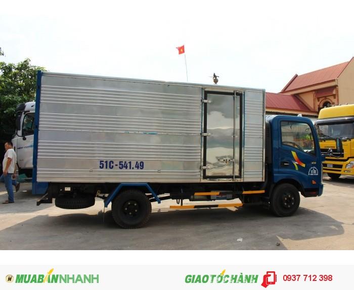 Gía xe tải Veam Vt250 2.5 tấn/2T5 máy Hyundai trả góp giá rẻ 0