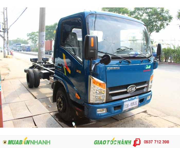 Gía xe tải Veam Vt250 2.5 tấn/2T5 máy Hyundai trả góp giá rẻ 1