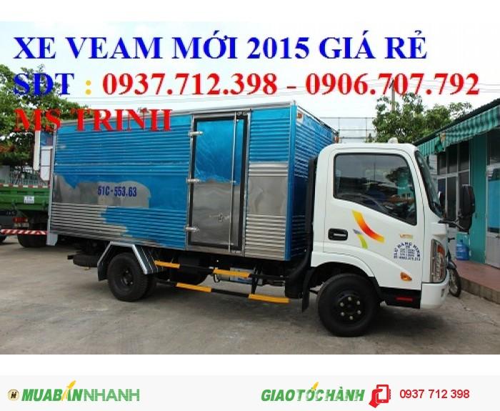 Gía xe tải Veam Vt250 2.5 tấn/2T5 máy Hyundai trả góp giá rẻ 3