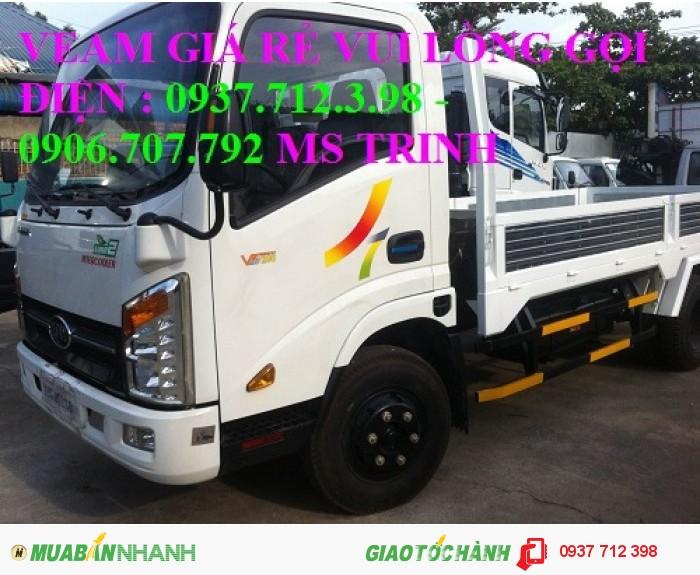 Gía xe tải Veam Vt250 2.5 tấn/2T5 máy Hyundai trả góp giá rẻ 4