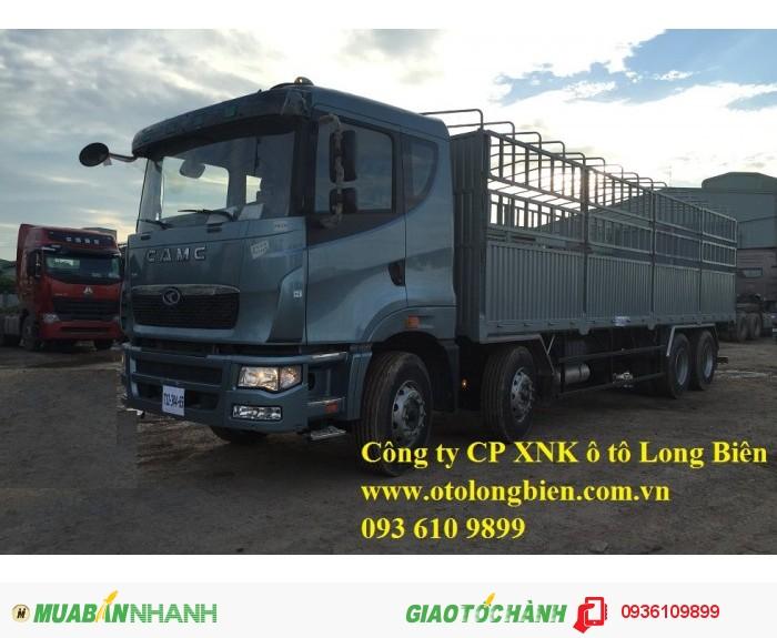 Xe satxi, tải thùng 4 chân CamC máy Hino tải trọng 17-19 tấn 2015, 2016